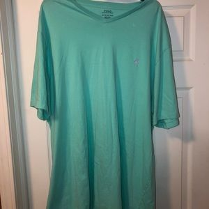 Turquoise Polo By Ralph Lauren T-Shirt